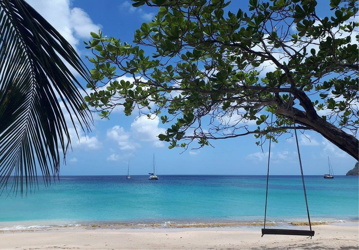 keegans bequia view from beach